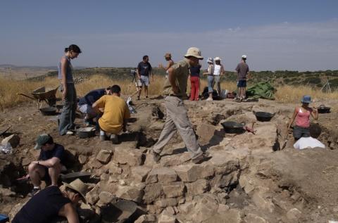 Excavations at Castillejo del Bonete