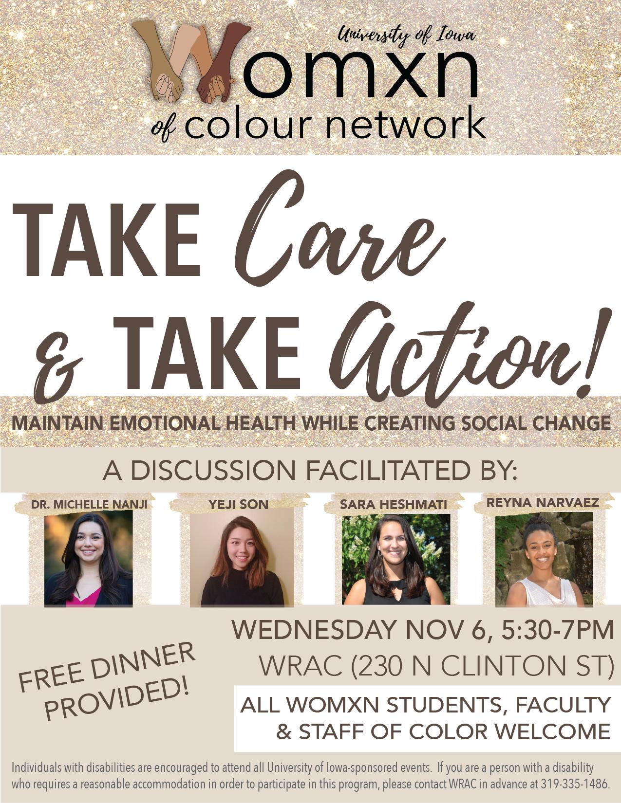 WOCN: Take Care & Take Action! promotional image