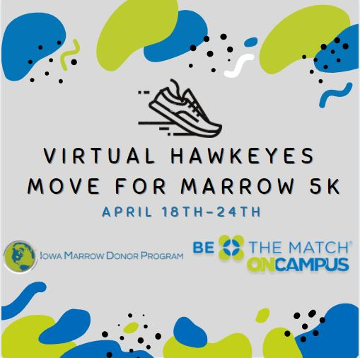 Virtual Hawkeyes Move for Marrow 5K