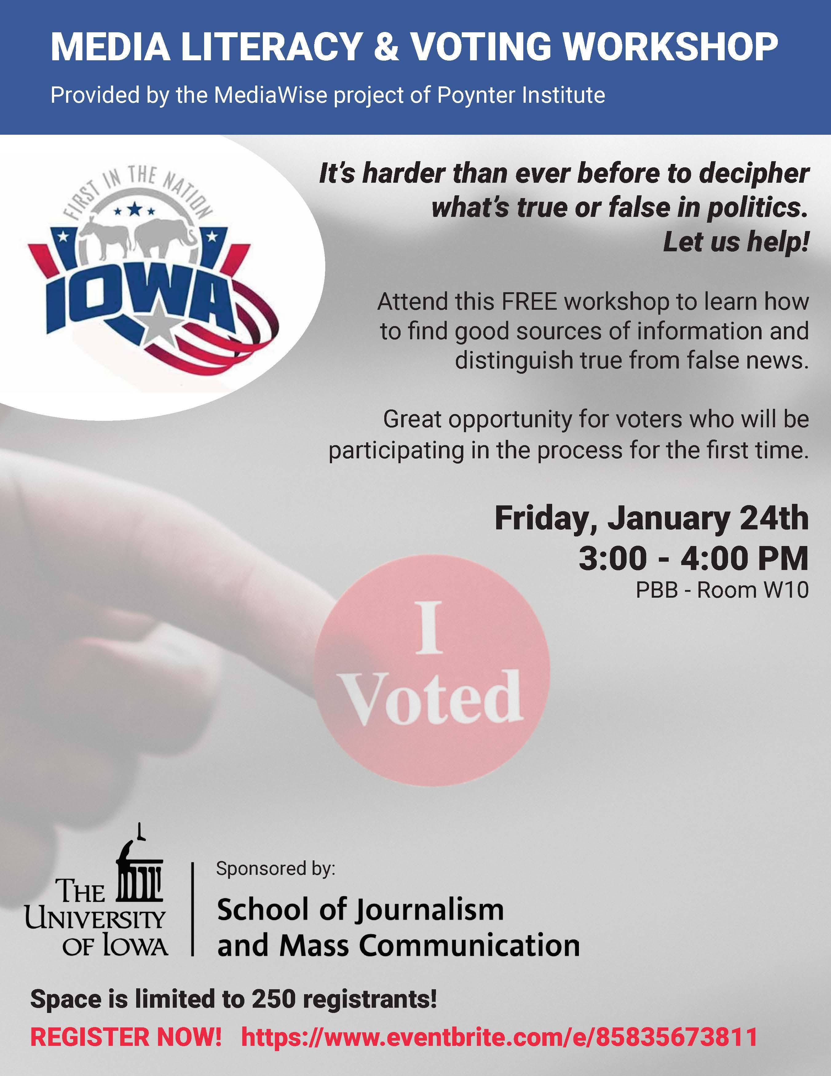 MediaWise Voting Workshop