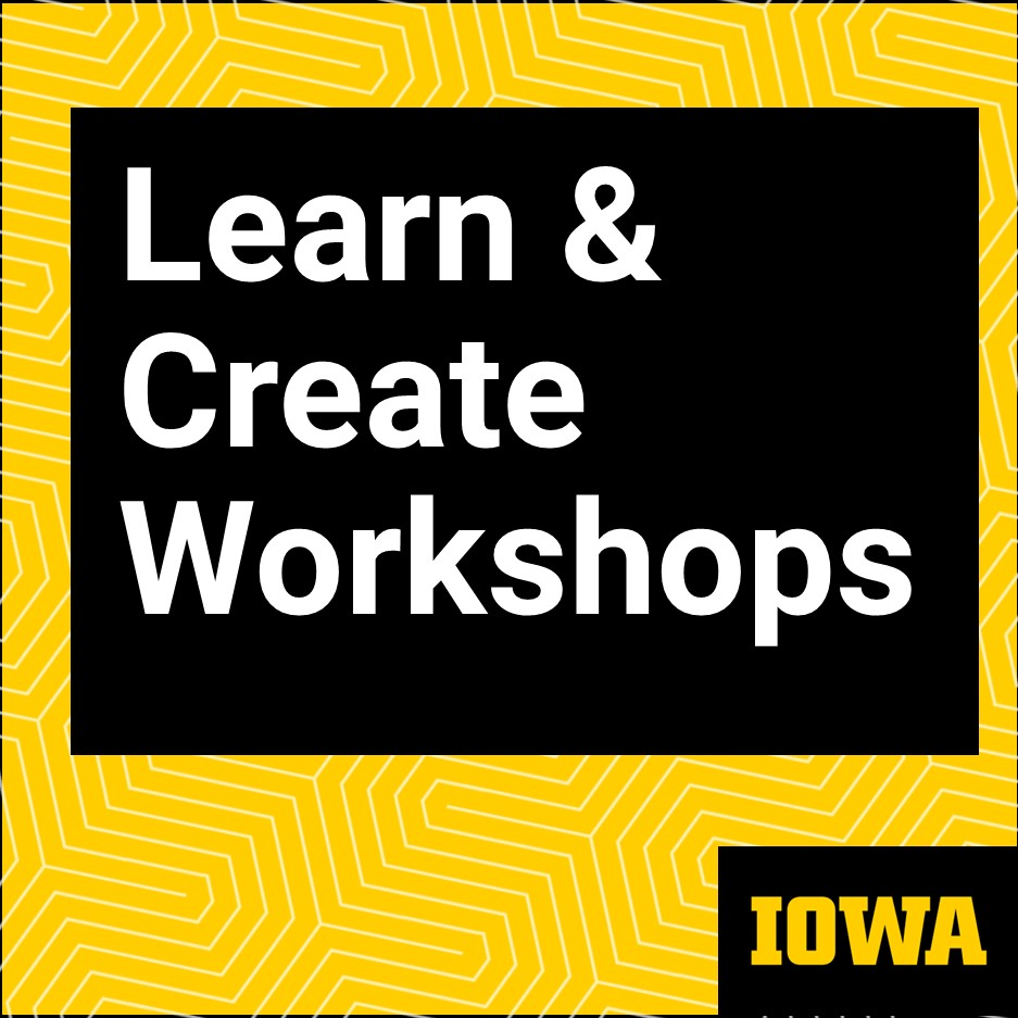 Learn and create workshop image