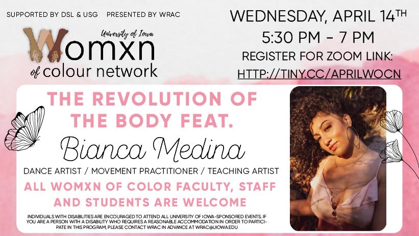 WOCN: Revolution of the Body Feat. Bianca Medina