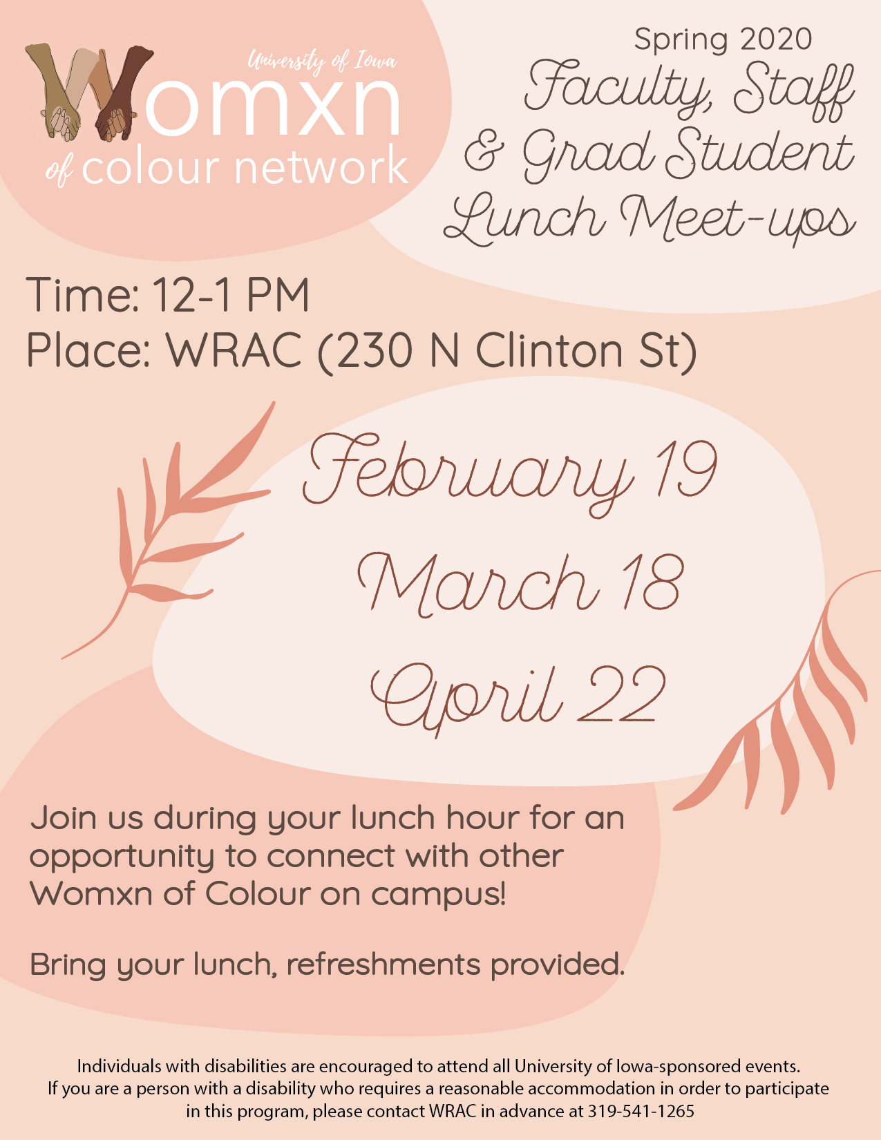 WOCN: Faculty, Staff & Grad Student Lunch Meet-Up