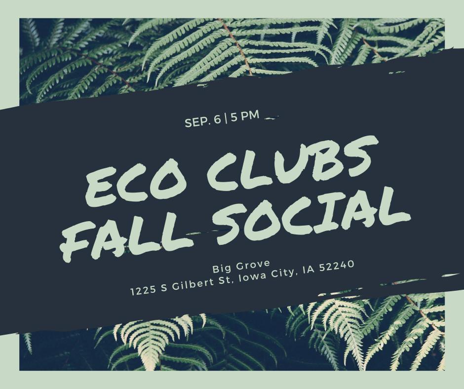 UI Green Fall Social