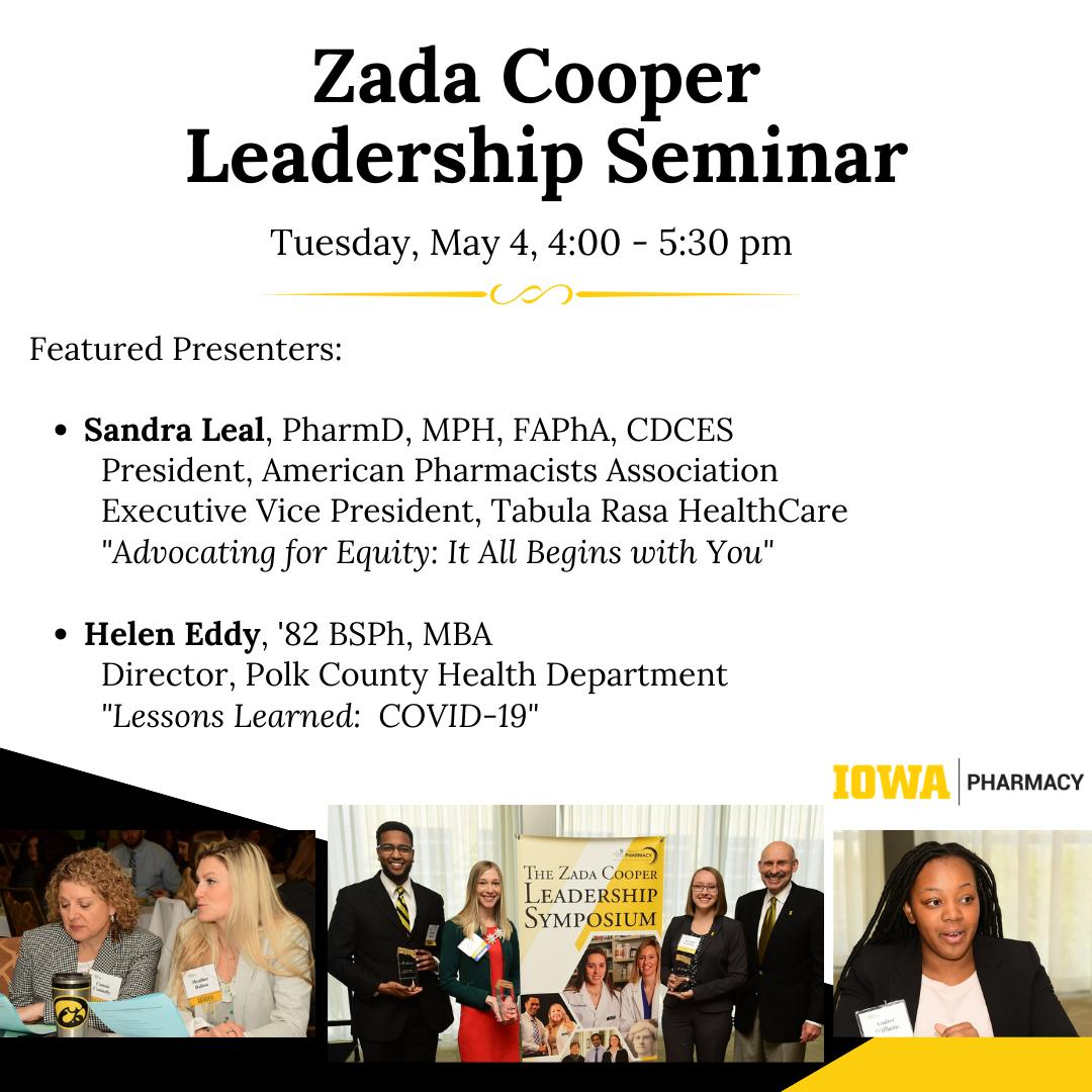 Zada Cooper Leadership Seminar